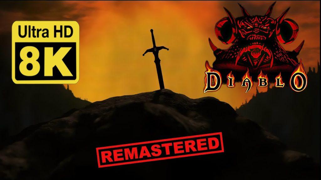 Remasterización en Ultra HD 8k de la cinemática de Diablo 1